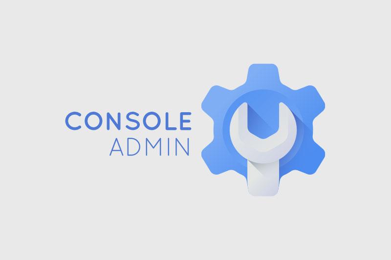 console admin