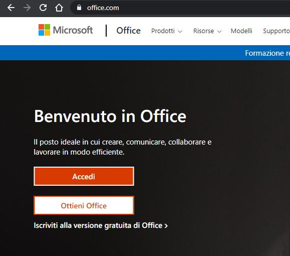 acesso da office.com