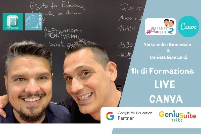 tutorial italiano canva for education